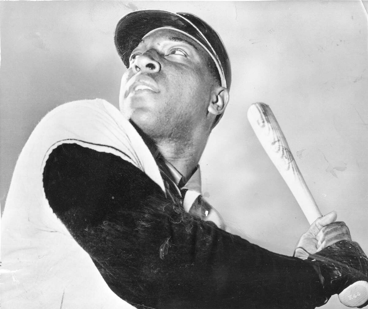 Giants sluggers Willie McCovey at Spring Training, February 28, 1964 Associated Press photo Photo ran February 29, 1964, . 32