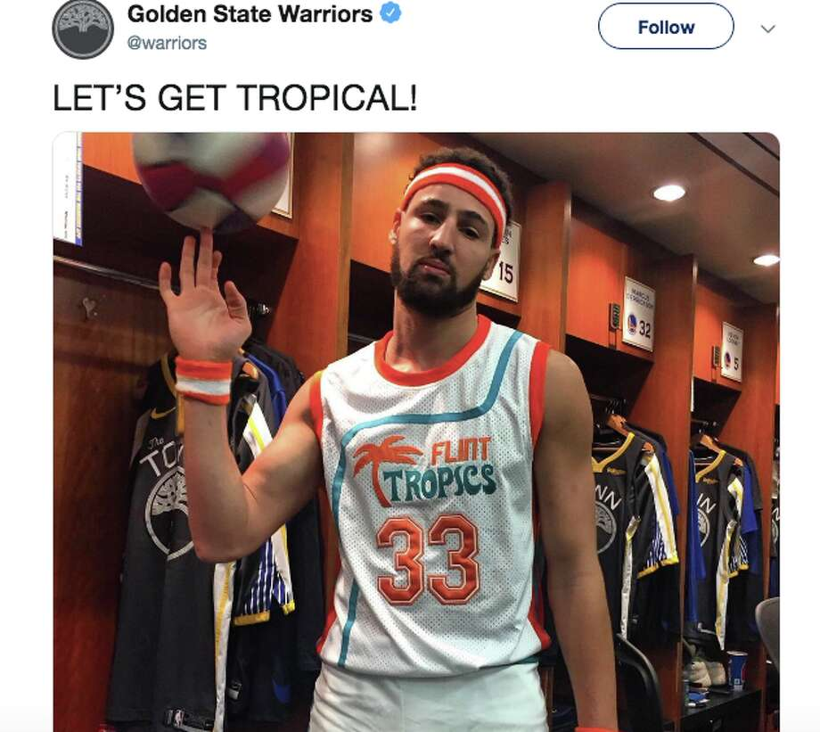 new concept c4299 37985 Klay Thompson wins Halloween with 'Semi-Pro' costume - SFGate