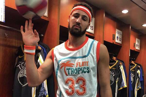 c2f42acaa63 1of13Klay Thompson as Jackie Moon from