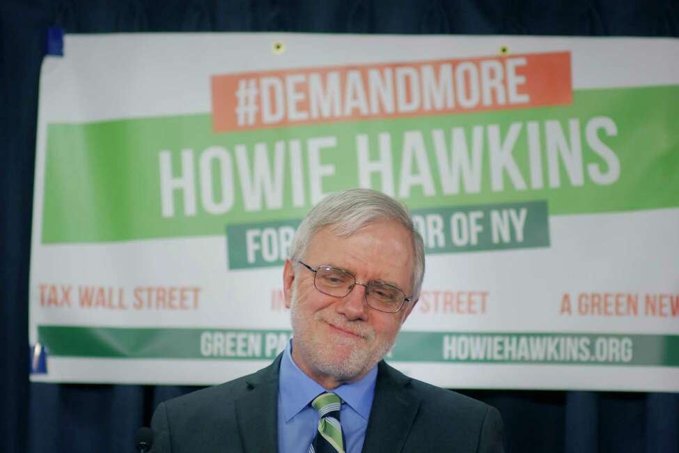 This year's gubernatorial results were not as promising as four years ago for the Green Party, which saw its share of the vote shrink from about 5 percent to about 1.7 percent. As a result, Howie Hawkins, who carried the party's mantle both times, anticipated they won't have the