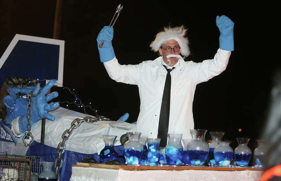 Scenes from Wednesday night's 102nd annual Alton Halloween Parade in downtown Alton. Photo: John Badman | The Telegraph