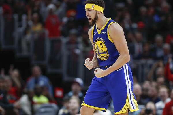 sale retailer 5d714 c00a0 Warriors at their best when Klay Thompson finds his groove ...
