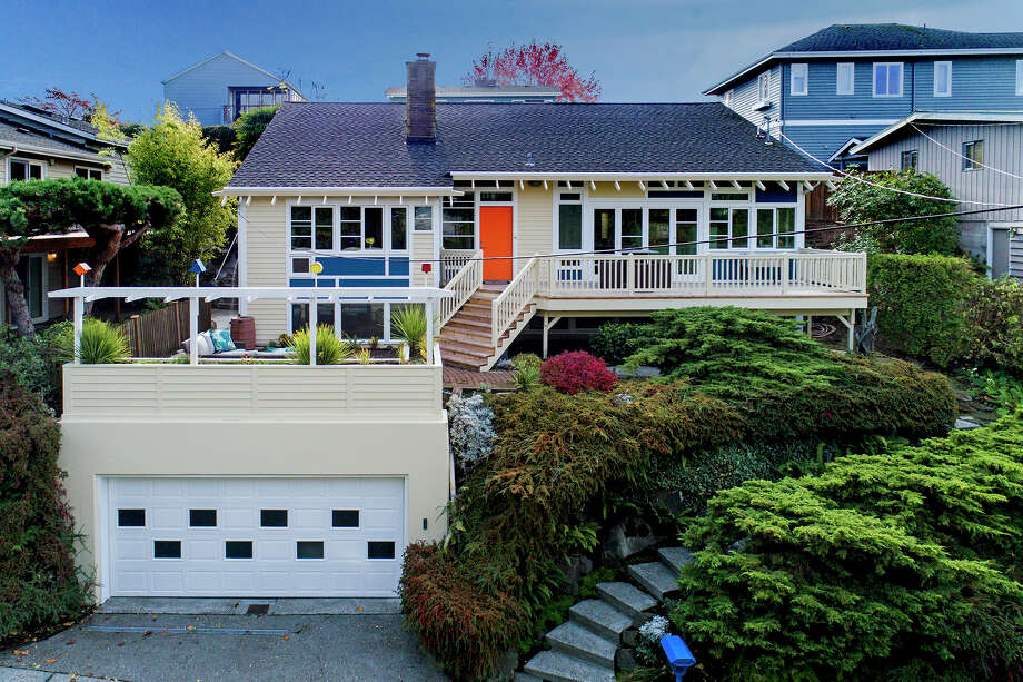 A unique home in a venerable Ballard neighborhood, 3609 NW 61st asks $1.195M Photo: Dan Achatz Photography  Vua Kelly Blake/Windermere