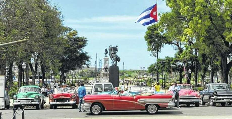 "A photo Illinois College student Collin Walter took during a May trip to Cuba will be among those featured today during the ""Perspectives on Cuba"" exhibit at IC's Center for Global Studies and Parker Science Building. Photo: Photo Provided"