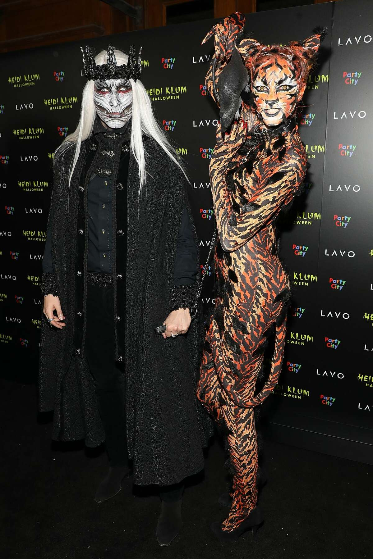 Guests attend Heidi Klum's 19th Annual Halloween Party at Lavo on October 31, 2018 in New York City. (Photo by Taylor Hill/FilmMagic)