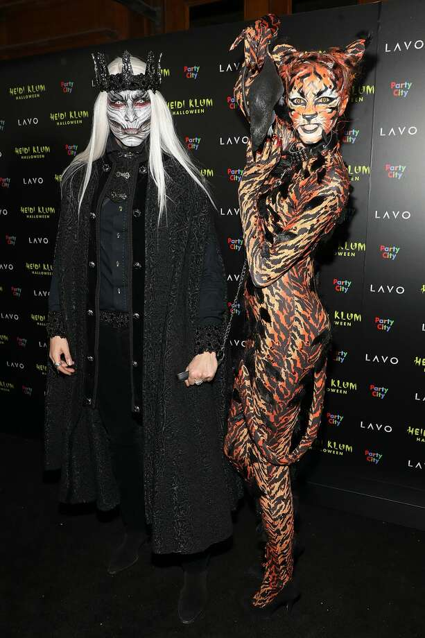 Guests attend Heidi Klum's 19th Annual Halloween Party at Lavo on October 31, 2018 in New York City.  (Photo by Taylor Hill/FilmMagic) Photo: Taylor Hill/FilmMagic