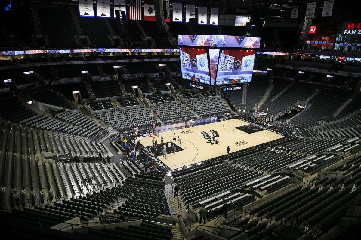 Two days after the Spurs revealed a limited attendance plan to bring fans back into the AT&T Center, Texas Gov. Greg Abbott announced the state has the green light to fully reopen and go maskless by next Wednesday, but the franchise says nothing is changing in their home.
