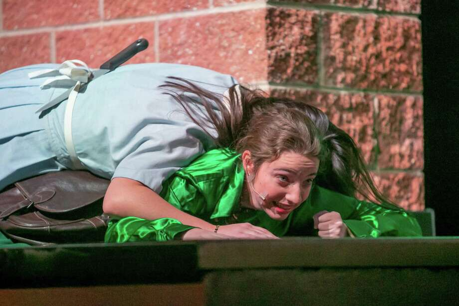 The Middletown High School Drama Club is presenting the play Clue through Saturday at the Middletown High School Center for the Performing Arts on LaRosa Drive. The cast includes Dan Wisse, Sam Crowley, Jade Crockett, Jada Fong, Noah Ouimet, Logan Sorenson, Elizabeth Berry and Chloe Lacroix. Photo: Sandy Aldieri Photo