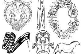 David Alcantar will be tattooing people during Luminaria, using imagery drawn from contemporary art.