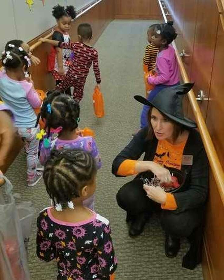 Preschoolers from SIUE Head Start/Early Head Start Discovery Center for Little Scholars went trick or treating throughout across the East St. Louis Higher Education Campus on Wednesday, Oct. 31. Photo: For The Telegraph