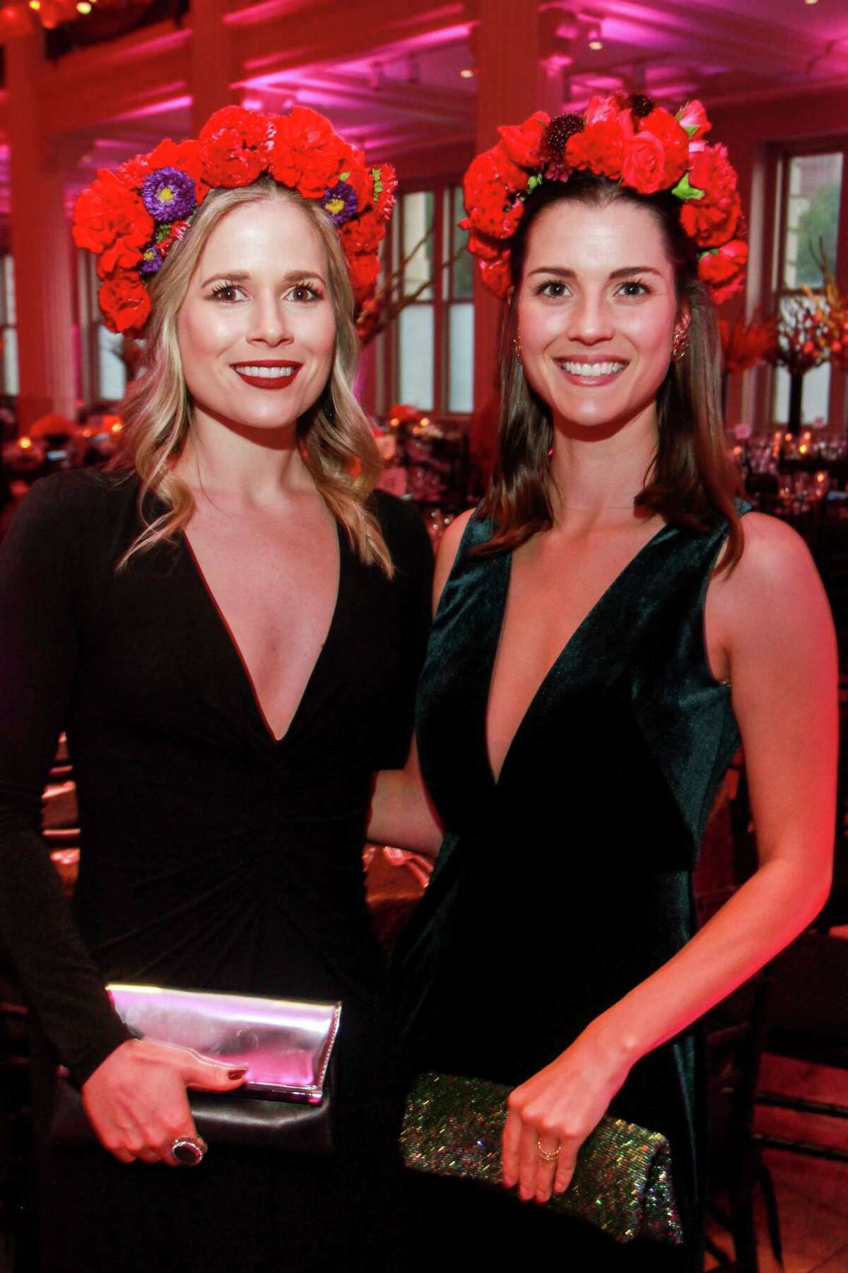 Ali Guill, left, and Rebekah Guill at the Children's Museum gala,