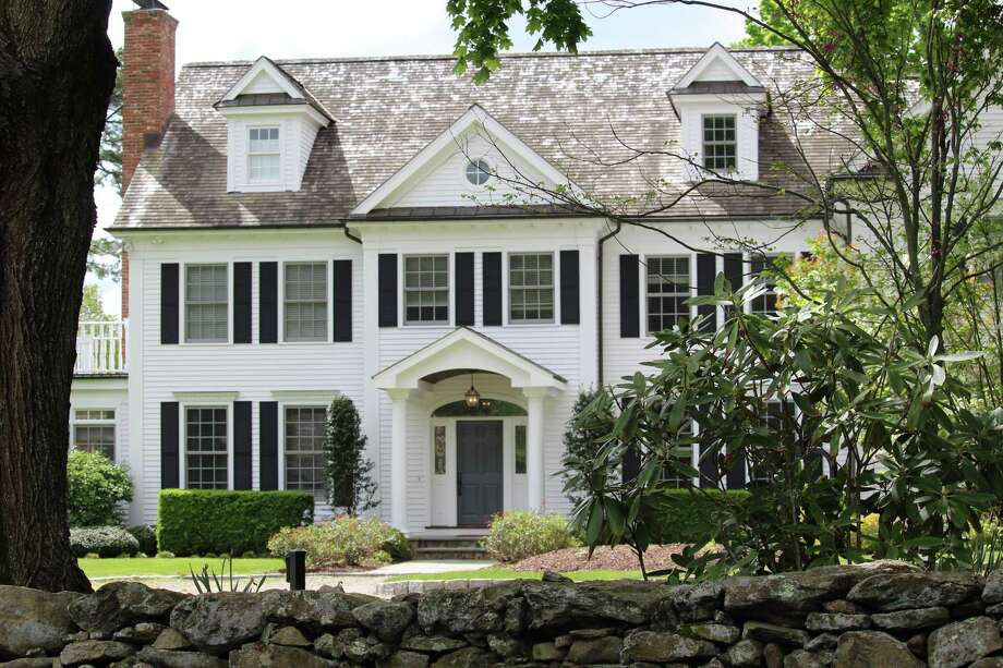 6 Westway Road in Westport. Former FBI Director James Comey sold the house in January for $2.47 million. Photo: Chris Marquette / Hearst Connecticut Media / Westport News