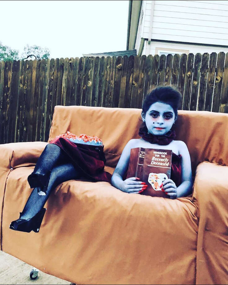 San Antonians show off their Halloween 2018 costumes. Photo: Courtesy, Lizeth Salinas