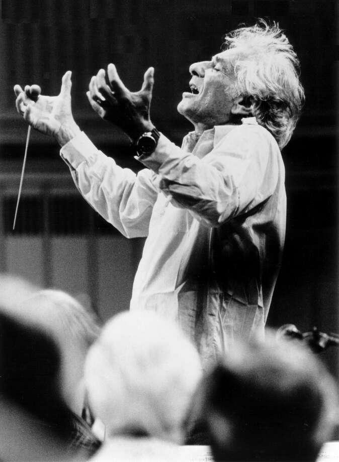 Leonard Bernstein  (photo courtesy Skidmore College) Photo: Leonard Bernstein  (photo Courtesy Skidmore College)