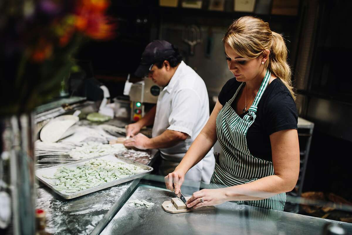 A16 Cuisine: Italian/Californian This restaurant and wine bar is led by executive chefNicolette Manescalchi. Enjoy the Neapolitan-style pizza with a glass of your favorite vino. 2355 Chestnut St., San Francisco
