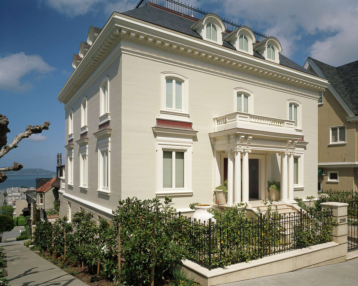 Elegant mansion in San Francisco's swanky Pacific Heights neighborhood at 2590 Green St. listed for $40 million.