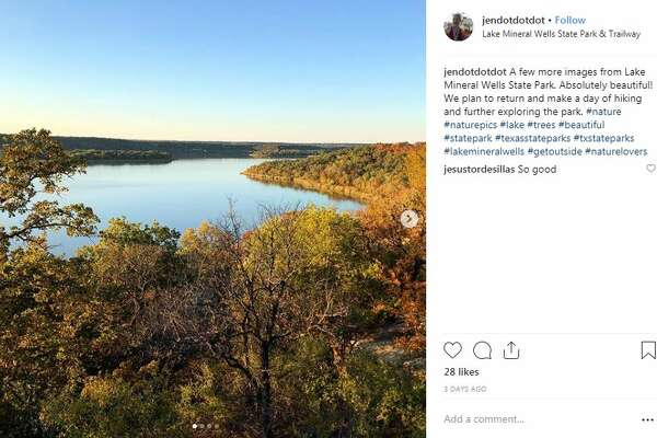 "Lake Mineral Wells State Park & Trailway, Mineral Wells @jendotdotdot: ""A few more images from Lake Mineral Wells State Park. Absolutely beautiful! We plan to return and make a day of hiking and further exploring the park."""