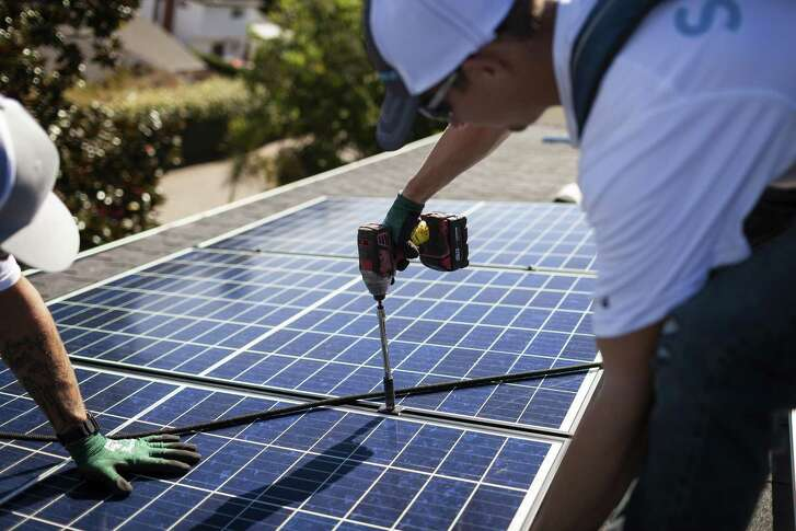 Sunnova Energy Corporation, a Houston solar energy company, said it is bringing a solar-plus-storage system that will allow Texas homeowners to store solar energy in batteries for later use.