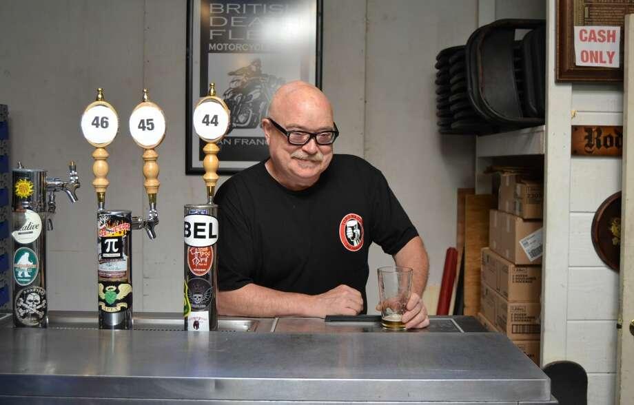 Toronado founder Dave Keene at his Haight Street beer bar on October 31, 2018. Photo: Alyssa Pereira/SFGATE
