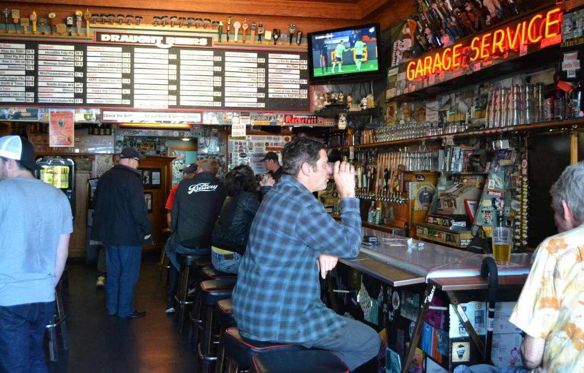 Toronado, the famed Haight Street beer bar, on October 31, 2018.