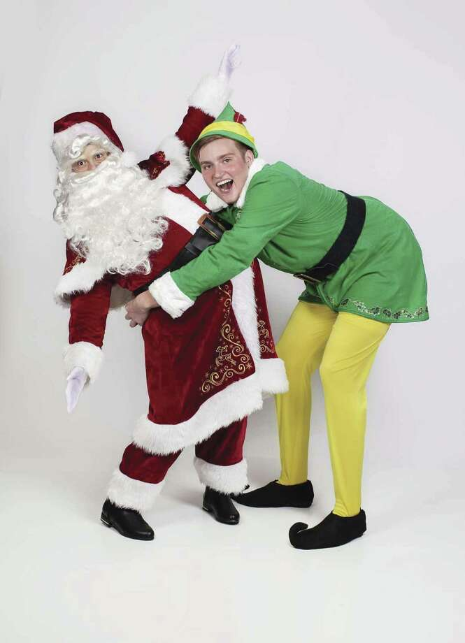 "Hudson Railey, 18, plays Buddy the Elf in Christian Youth Theatre's ""Elf The Musical Jr."" which opens at the Crighton Theatre on Nov. 9."