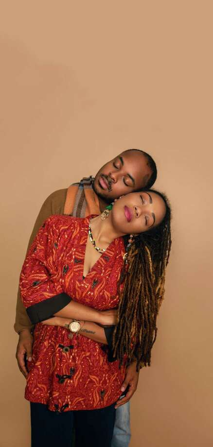 La-Toya Washington-Davis and her husband Tenisi Davis, founders of Rebirth Arts Collective on Sunday, October 14, 2018. Wardrobe and make up by Maritza Boudoir Photo: Francesca Andre / For Hearst Connecticut Media / Connecticut Post Freelance