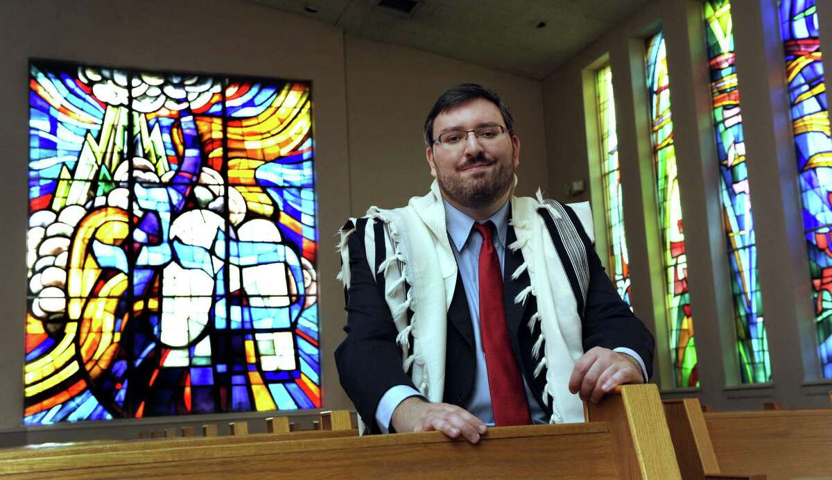 Rabbi Stefan Tiwy is the new spiritual leader of the United Jewish Center in Danbury, Conn. Photo Tuesday, Sept. 20, 2016.