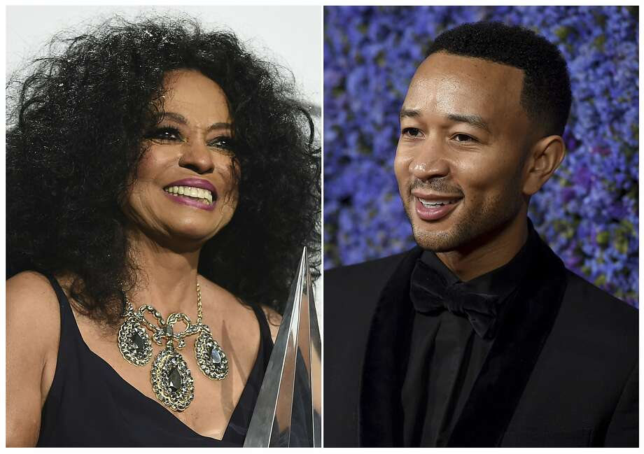 Diana Ross and John Legend will be among the stars celebrating at Macy's Thanksgiving Day Parade in New York City on Nov. 22.  Click through the slideshow to see other celebrities who will be part of the traditional parade.  Photo: Associated Press