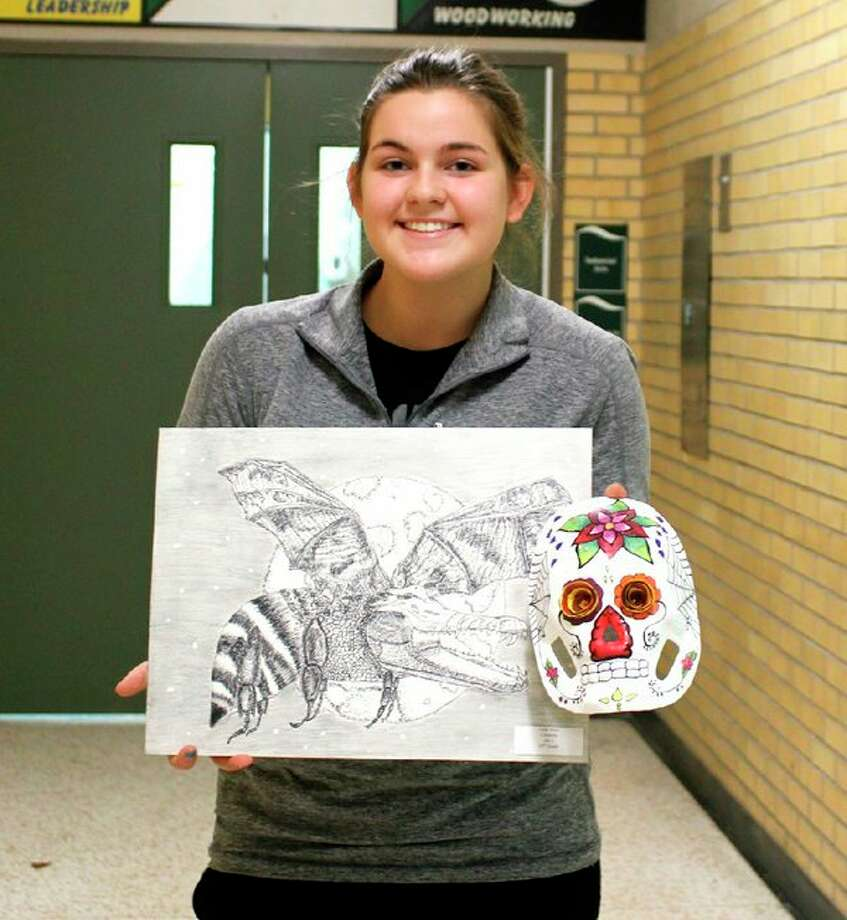 Leah Irion was named the Subway Laker Artist of the Month for October. (Submitted Photo)