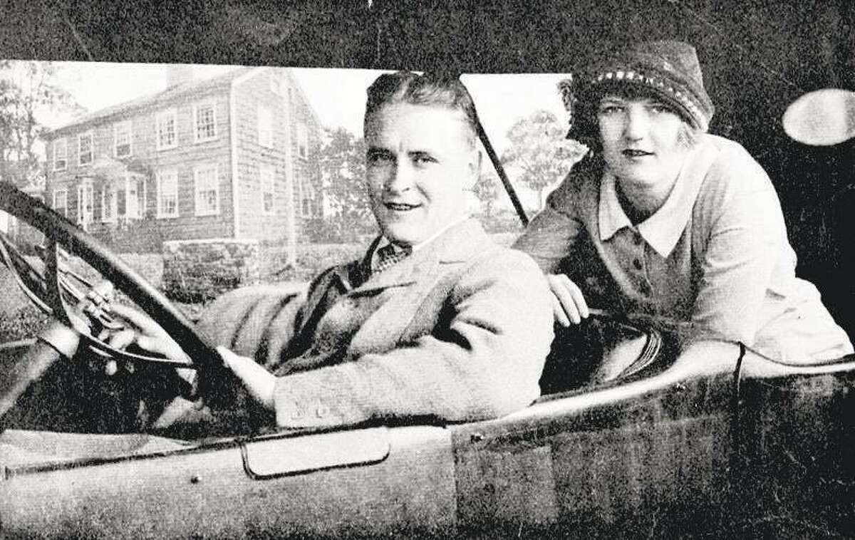 F. Scott Fitzberald and his wife Zelda