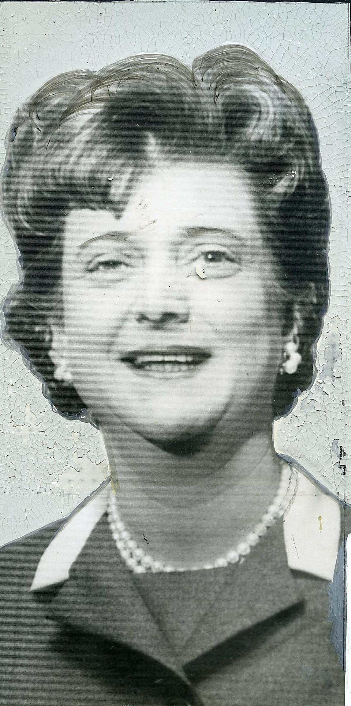 Ann Eliaser was active in many political organizations, seen here when she was Ann Alanson, and had been elected National Committeewoman by the California State Democratic Executive Committee March 6, 1965 United Press International photo ran 3/14/1965, p. 5 This World