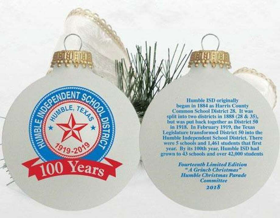 City of Humble's official 2018 Christmas Ornament. Photo: Humble Beautification Committee