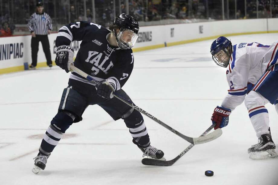 Joe Snively has been Yale's leading scorer each of the past three seasons. Photo: Cindy Schultz / Albany Times Union File Photo / Albany Times Union