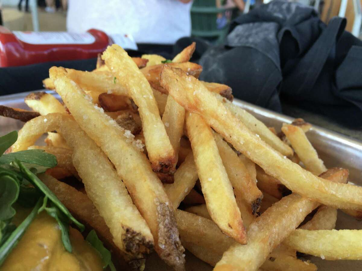 Fries at Saint Arnold Beer Garden & Restaurant >>Check out more Burger Friday reviews...