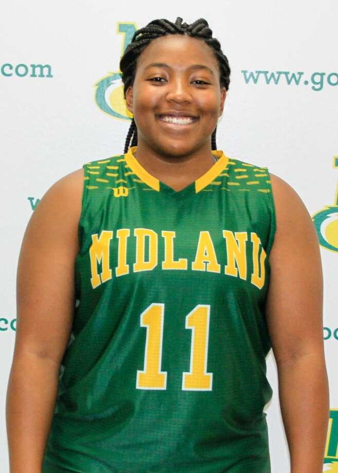 Midland College basketball's Edreana Jackson Photo: Midland College