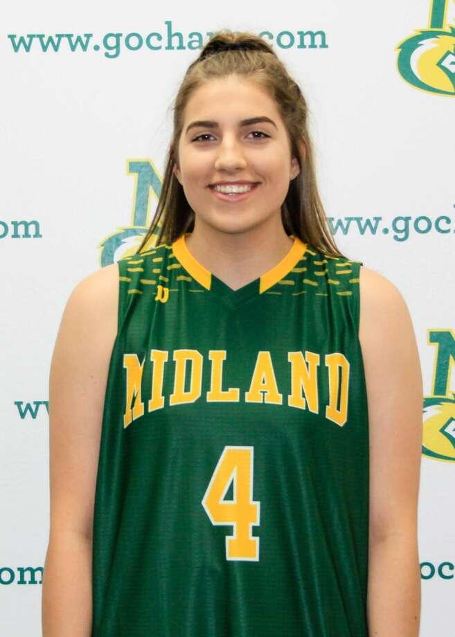 Midland College basketball's Lana Marov Photo: Midland College