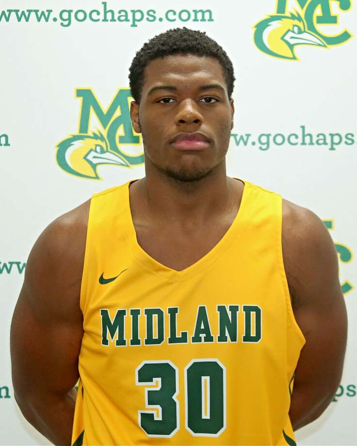 Midland College basketball's Elijah Lufile Photo: Midland College