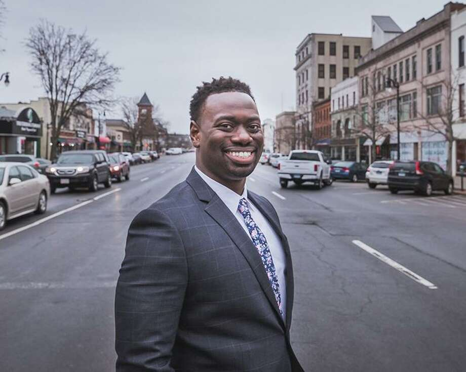 "The Middletown CT GOP posted a 13-second video on its Facebook page Oct. 21, which claims Treasurer Quentin ""Q"" Phipps, a Democrat running for the 100th House District, has only shown up for 99 percent of meetings in his capacity. Photo: Contributed Photo"