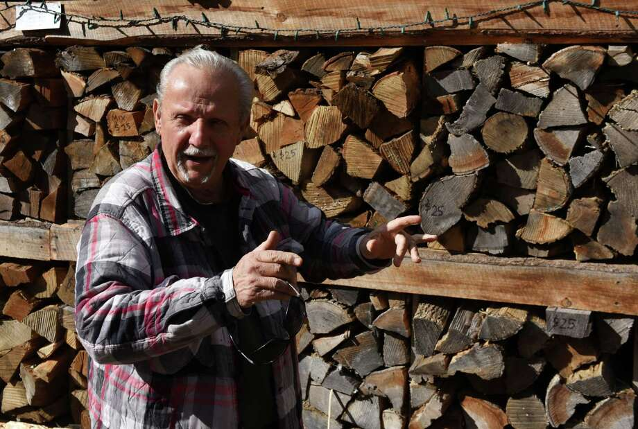 Lou Faraone, owner of Seasoned Gourmet Firewood, is pictured at his lumber store on Tuesday, Oct. 30, 2018, in Wilton, N.Y.  (Will Waldron/Times Union) Photo: Will Waldron / 40045287A