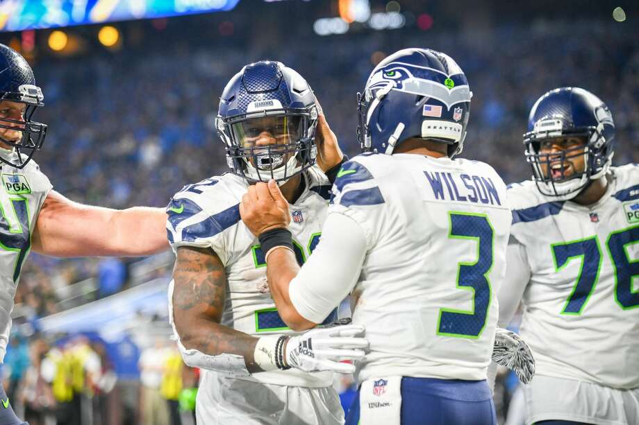 The Seahawks (4-3) face the Los Angeles Chargers (5-2) at 1:05 p.m. Pacific on Sunday. Photo: Icon Sportswire/Icon Sportswire Via Getty Images