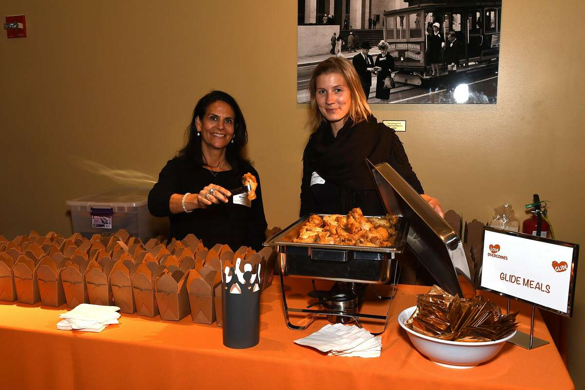 Glide Annual Holiday Jam, Glide Memorial Methodist Church's biggest fundraiser, is known for serving its signature fried chicken, as well as food from San francisco restaurants such as Waterbar.