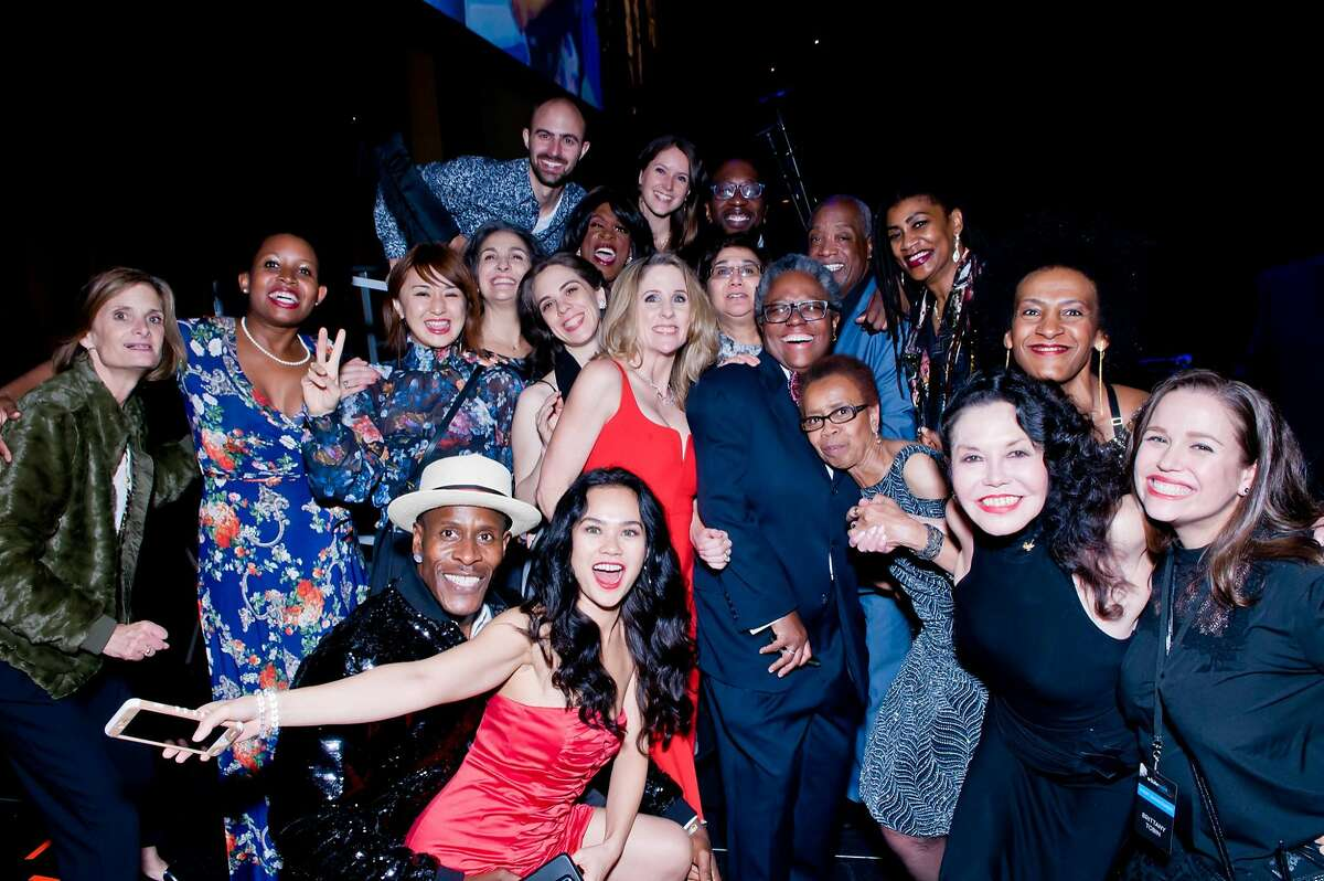 Scenes and guests from 2017's Glide Annual Holiday Jam.