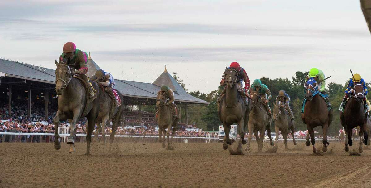 An earlier start to Saratoga's historic thoroughbred racing meet was discussed by the New York Racing Association board on Wednesday. (Skip Dickstein/Times Union)