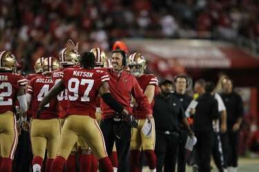 eba5c054 Nick Mullens' debut is verifiably good in 49ers' 34-3 romp over ...