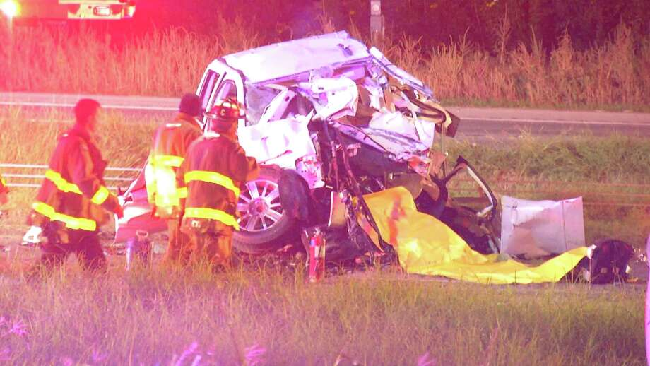 1 dead, 2 injured after woman speeds head-on into