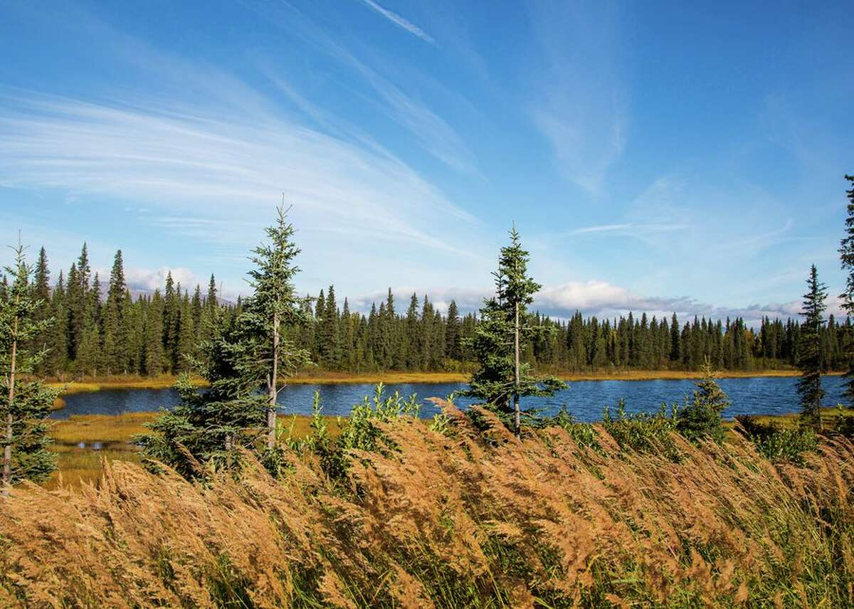 Denali is located in inland Alaska.