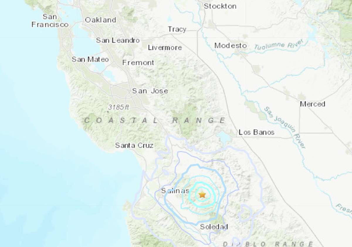 Three earthquakes near Hollister shook Central California Friday morning.