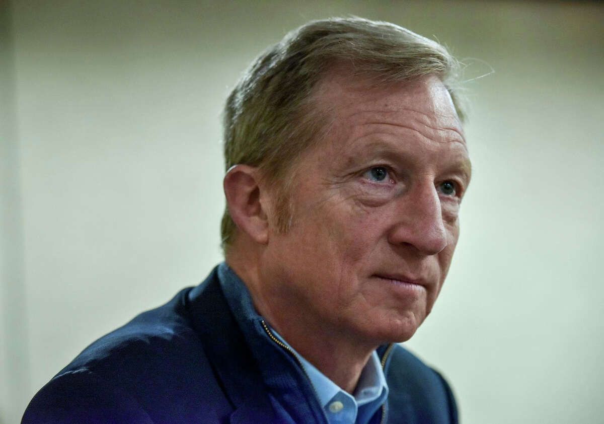 Tom Steyer is a billionaire investor and political activist from California. He has invested millions in the solar initiative in Arizona.