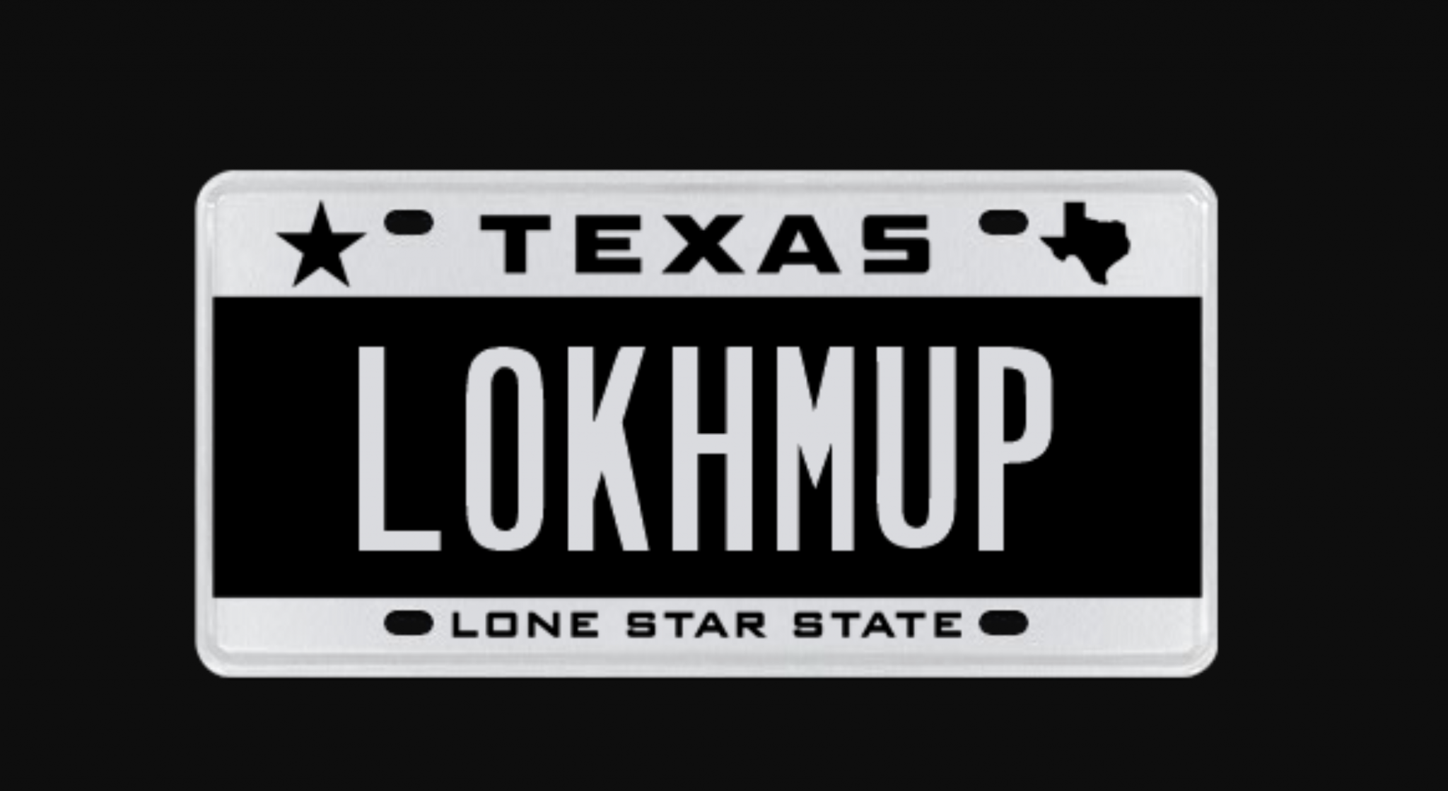 State rules anti-Trump Texas driver can't use 'LOKHMUP' vanity license plate