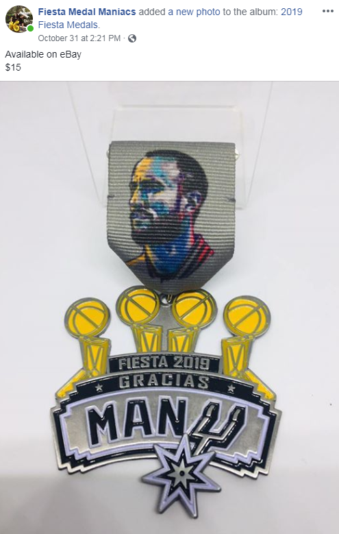 Cool Fiesta medals you can already start buying